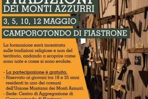 Corso di formazione gratuito sulle tradizioni del territorio dei Monti Azzurri